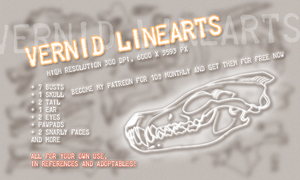 Vernid reference linearts FOR SALE by LiLaiRa