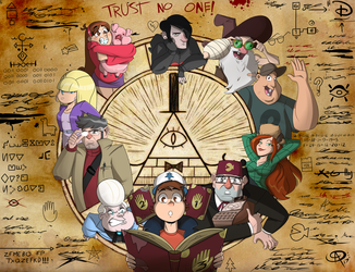 Gravity Falls (2017 Revision) by Chillguydraws