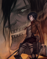 Shingeki no Kyojin: Siblings by ae-rie