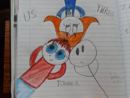 Us three together by jakelsm