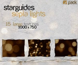 Sepia Lights 1 by LucianaMorin
