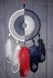 Decorative dreamcatcher Equilibrium 2 Yin Yang by DreamerMirano
