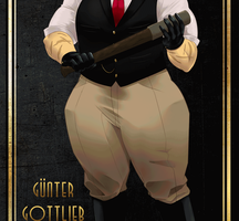 Golden Dernee - Gunter Gottlieb by FunkyFunKing