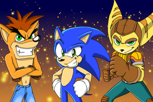 Sonic X2 Characters (fan series) by Leg000