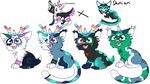 unicat breeding batch 3 (open 2/4) by skyfeather0066