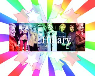 Desktop - Hillary Clinton by n0vacancy