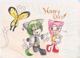Oh Happy day by FoxyHTF