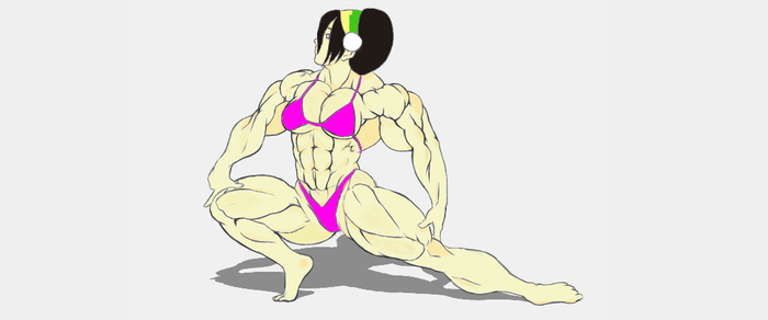muscle toph (colored) by MuscularTophFan