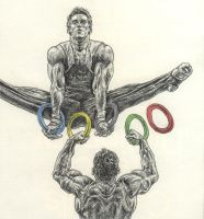 The Olympic Rings by ThePotatoStabber