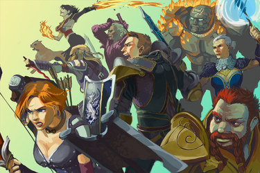 Dragon Age: Origins by Kitewing