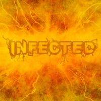 INFECTED Font by asianpride7625