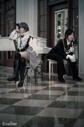 Black Butler Lily Cover - 2 by evalime