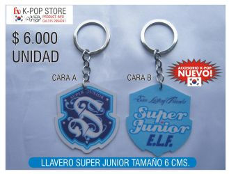 super junior keychain by panguanochito