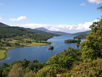 Queens View near Pitlochry WP by denise-g