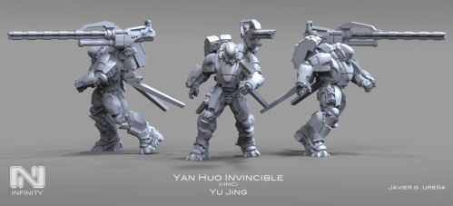 YAN HUO Invincible HMC by javi-ure