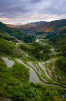 Bukang Liwayway (Sunrise over Banaue) by HoneyMaglalang