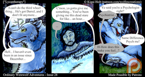 Ordinary Werewolf Adventures - Lycantherapy by Kigai-Holt