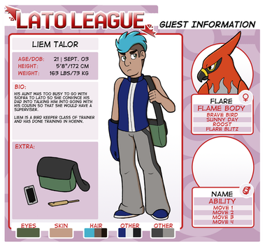 Lato League Guest App: Liem Talor by spud133