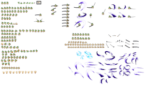 Goemon sprite sheet (Update1.1) by kotathekirby07