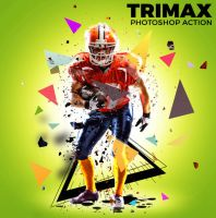 TriMax Photoshop Action by hemalaya