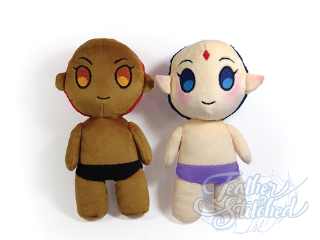 Chibi Human (Pattern available) by FeatherStitched