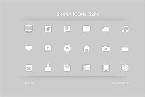 Simply Icons 32px by Metalbone1988