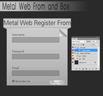 Metal Web Register From by DesignerShibly