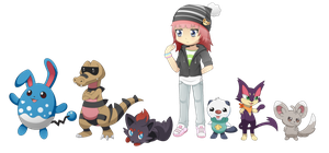 Me and my pokemon!
