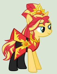 MLP Sunset ShimmerTransformation Leyend of Everfre by YulianaPie26