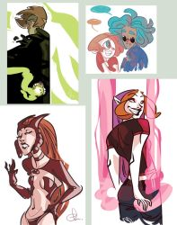 Webcomic characters1 by chlove-art