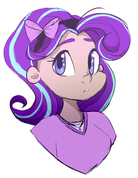 Human Starlight Glimmer by MS-ponies