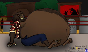 Big Bad fatty were: Werewolf by NightCrestComics