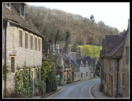 Castle Combe by Lunapic