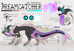 Dreamcatcher ~ OC Reference Sheet by 666SAT4N666