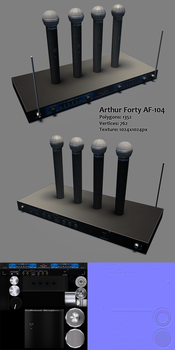 Arthur Forty AF-104 Lowpoly by RaMoNVicious