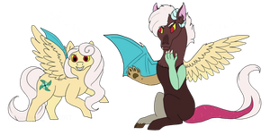 Fluttercord Babies by ChocolateQuill