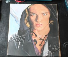 Jamie Campbell Bower as jace wayland by noosya