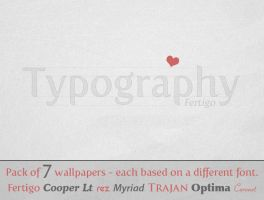 Typography wallpaper pack by carlnewton