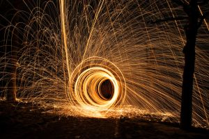 tunnel of fire by PhotographyChris