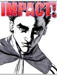 IMPACT! - Experimental Cover Art - Toning Markers by Max-Manga