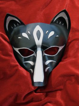 Fox Mask- Kitsune by MummersCat