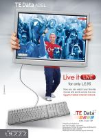 TE Data ADSL 'Live' by msalah