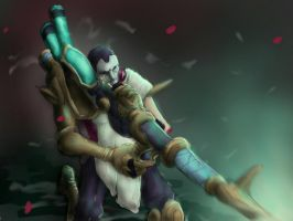 Jhin, the Virtuoso by Falkras