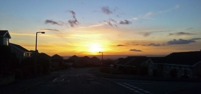 Sunset Over Wickersley by joabo42