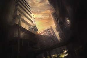 Abandoned city. by stgspi