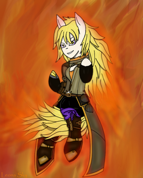 Yang Xiao Long by Leonine-and-Leona