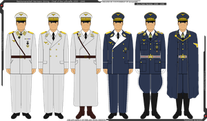 Some of Reichsmarschall Hermann Goring's Uniforms by Grand-Lobster-King