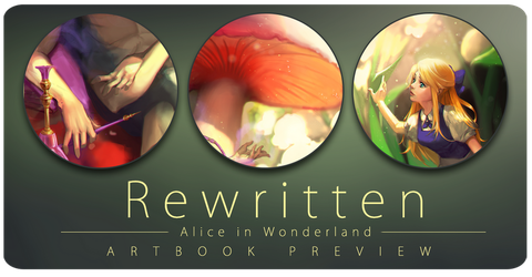 Rewritten Artbook - The Encounter by lucidsky
