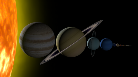 Solar System Size Comparison by jcpag2010