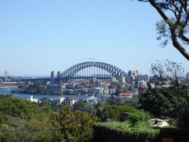 Sydney Harbour Bridge from Taronga Zoo by extramaster